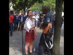 Part 2 Watch singer Seal Join Street Musician For duet in manchester 2016 - YouTube