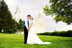 S.W. Portraits: Karen & Scott. Manti LDS Wedding