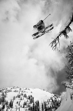 I have skied all my life, and freestyle skiing has been a way for me to be creative and see how far I can push the sport/ myself.