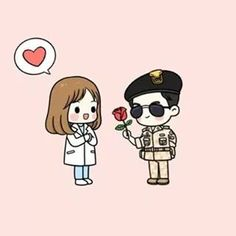 I didn't really get into the whole Descendants of the Sun craze a while back and I still am not getting into it. I stumbled across this fan art and thought it was cute and worthy of reposting. After all, I am a fan of cute and useless stuff. Couple Wallpaper, Love Wallpaper, Iphone Wallpaper, Med Student, W Two Worlds Art, Descendants Of The Sun Wallpaper, Couple Goals Cuddling, Medical Wallpaper, Couple Cartoon