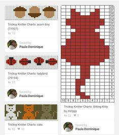 Image result for easy fair isle patterns