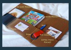 I will be making these for my scouts and venturers someday...Cub Scout Tri-fold Pouch