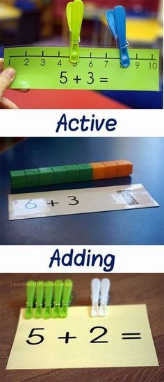 Understanding addition through lots of activities and resources. Maths is fun! – Tamara Haim Understanding addition through lots of activities and resources. Maths is fun! Understanding addition through lots of activities and resources. Maths is fun! Maths Eyfs, Preschool Learning, Math Classroom, Kindergarten Math, Teaching Math, Kindergarten Addition, Early Learning, Addition Activities, Math Addition
