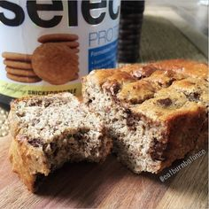 Chocolate Chip Snickerdoodle Banana Bread INGREDIENTS: 1 cup almond flour, 2 Tbsp whole wheat flour, 1/2 scoop Snickerdoodle Select Protein, 2 tsp cinnamon, 1 tsp baking powder, 1/4 tsp baking soda, desired amount of chocolate chips (optional). METHOD: Mix together all dry ingredients, then add wet. Once combined, fold in chocolate chips. Pour into 2 sprayed mini loaf pans (or 1 large loaf pan). Bake at 375* F for 20 minutes, or until toothpick comes out clean from center. Enjoy!