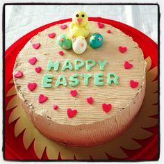 Mocha cake for Easter