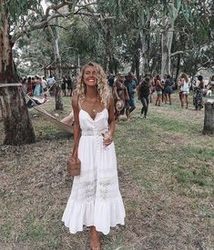 Boho chic style outfits - 2018 Fashion Women Clothing Summer Lace Dress Female Hollow Out Maxi Whiterricdress – Boho chic style outfits Lace Summer Dresses, Sexy Dresses, Casual Dresses, White Dress Summer, Bridal Dresses, Boho Style Dresses, Lace Dresses, Casual Outfits, Long Boho Dresses