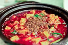 10 of China's spiciest dishes: Ma Po Tofu, Sichuan Chinese Dishes Recipes, Spicy Dishes, Food Dishes, Main Dishes, Spicy Recipes, Asian Recipes, Cooking Recipes, Ethnic Recipes, Traditional Chinese Food