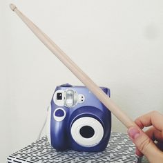 Drumstick in front of my instant camera #drumstickeverywhere #drums #drummer #bateria #drumporn #percussion #vsco #vscocam #love #drumstuff #harrypotter #instagood #like4like #drumstagram #drumsticks #vf15 #sticks #baquetas #drummingco #dw #zildjian #pearl #vicfirth #vater #promark #ahead #meinl #photooftheday #instantcamera #polaroid by drumstickeverywhere