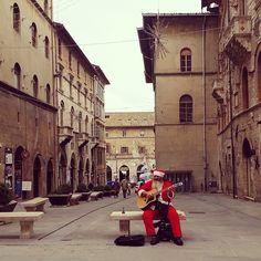Umbria rocking' Santa :) #Mirabilia2014 - Perugia