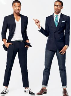 Michael B. Jordan (from Chronicle and Redtails) for GQ <3 #menswear