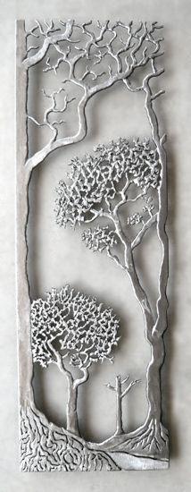 Provence: Bernard Collin: Metal Wall Sculpture - Artful Home