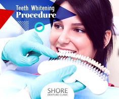 Tooth whitening can take out the deepest stains of your teeth and make them white & sparkling! Find out about the teeth bleaching preparation procedure & processes. Teeth Whitening Procedure, Teeth Bleaching, Dental Care, Clinic, Tooth, Stains, Skin Care, Dental Procedures, Dental Health