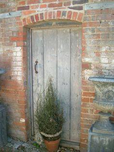 Entrance to barn, Surrey