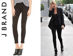 474892cad7a1 Charlize Theron s J Brand  910 Photo Ready  Low Rise Skinny Jeans