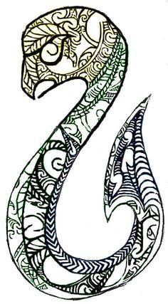 Hei Matau. 2. W.I.P. by lousephyr.deviantart.com on @deviantART (Maori Guardian)