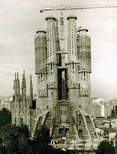 La Sagrada Familia, 1974.