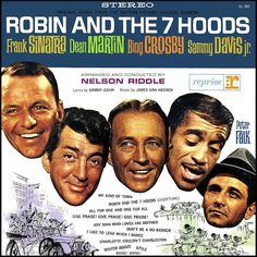 """""""Robin And The Seven Hood"""" (1964, Reprise).  Music from the movie soundtrack."""