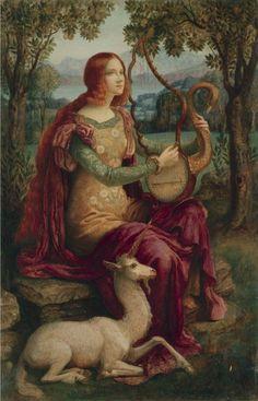 Armand Point - Lady with a Unicorn, c.1898
