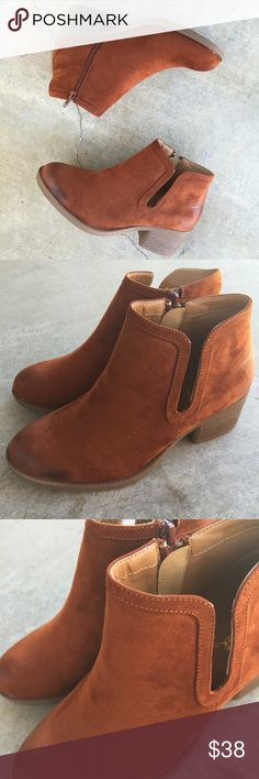 Whiskey side cut out ankle boots New in box Shoes Ankle Boots & Booties