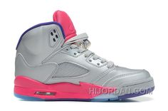 7901b1b58ab 440892-009 Air Jordan 5 Retro Cement Grey Pink Flash-Raspberry Red-Electric  Purple Women 3eBfr, Price: $89.90 - Air Jordan Shoes, Michael Jordan Shoes