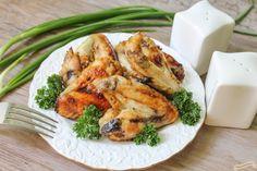 Aripioare de pui în marinada de usturoi cu miere 0 Tandoori Chicken, Ethnic Recipes, Food, Essen, Meals, Yemek, Eten