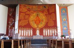 Catedral Divino Espírito Santo de Jataí / Painel de arte sacra