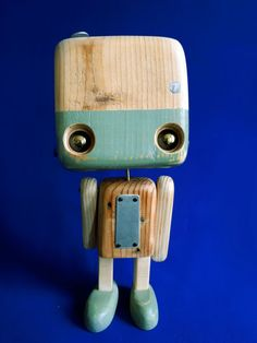 Diy Toys And Games, Block Head, Cute Diys, Wooden Crafts, Wood Toys, Creative Kids, Dremel, Wood Art, Art Dolls