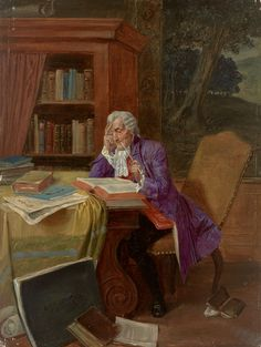 Albert Joseph Franke Aufmerksame Lektüre.