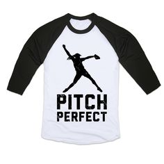 """How do you win a game? Pitch perfect, of course. This fun softball shirt is perfect for for pitchers or softball lovers of any position. Get ready for softball season in the field or on the stands with this tee. <a class=""""pintag"""" href=""""/explore/softball"""" title=""""#softball explore Pinterest"""">#softball</a> <a class=""""pintag searchlink"""" data-query=""""%23pitchperfect"""" data-type=""""hashtag"""" href=""""/search/?q=%23pitchperfect&rs=hashtag"""" rel=""""nofollow"""" title=""""#pitchperfect search Pinterest"""">#pitchperfect</a>"""