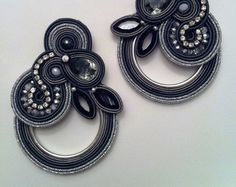 DIY Soutache tutorial: orecchini Monet's by AdelsLaboratory