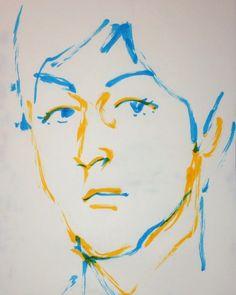 1mindrawさんはInstagramを利用しています:「#1mindraw #paulmccartney #ポールマッカートニー #19420618 #birthday #誕生日 #portrait #筆ペン画」