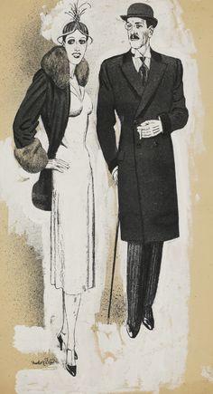 RUDOLF BAUER OHNE TITEL (FASHION COUPLE)