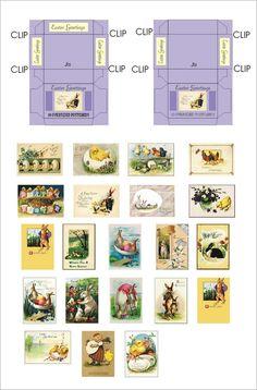 Weihnachtskarten mit Schachtel