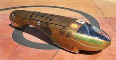 Cal Poly Supermileage car 2012