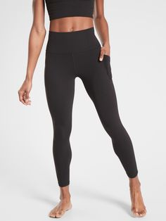 Mar 2020 - Salutation Stash Pocket II Tight in Powervita Yoga Leggings, Leggings Are Not Pants, Women's Leggings, Black Leggings, Black Workout Leggings, Workout Attire, Workout Gear, Black Yoga, Look Chic