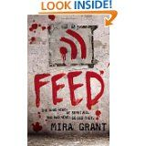 """Feed"" tickles my funny bone this year. The three protagonists are journalist bloggers whose dream-come-true assignment is to follow a presidential candidate on the campaign trail. With zombies.     What makes this story unique is that the zombies are not the unexpected horror - they are a fact of life. This is a post-zombie-apocalypse presidential campaign, and here's a hint- to think up a conspiracy, you have to have a functioning brain..."