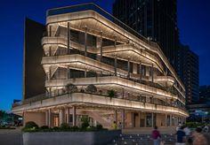 为虹口老街带来更加绿色与开放的未来 - AIM打造香槟金综合体 Chinese Architecture, Architecture Photo, Urban Intervention, Open Up, Outdoor Life, Shanghai, Landscape Design, Facade, Landscape Designs