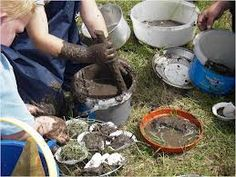 eyfs outdoor learning. Muddy play