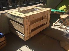 Self Watering Portable Planter Box Pallet Planters & Pallet Compost