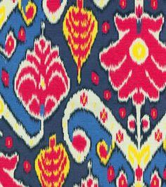 Home Decor Print Fabric- HGTV Home Market Marvel Gemstone