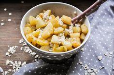 Getreide-Milch-Brei mit Vanillebirnen in brauner Butter11