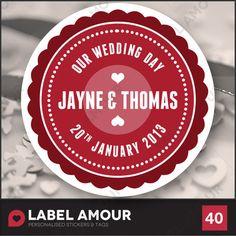 Wedding stickets (Ebay)