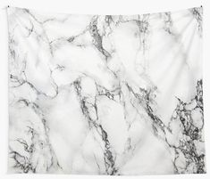 'White Marble ' Tapestry by artonwear Marble Tapestry, Wall Tapestry, Stone Texture, Marble Texture, Cubicle Walls, Vinyl Photo Backdrops, Marble Showers, Thing 1, Marble Wall