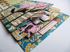 Cascading Matchbook mini album by Virginia Nebel