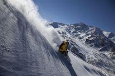 Centros de Ski, Las Lenas, Argentina and also in the northprovice for sky