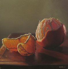 Scott Kiche - Naranja en la Luz- Oil