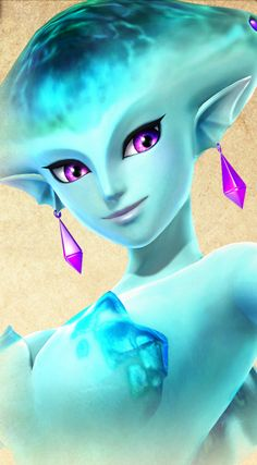 Ruto Princess of the Zora in Hyrule Warriors. Absolutely beautiful!