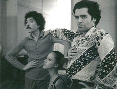 Karl Lagerfeld: before monochrome. Whit Antonio Lopez.