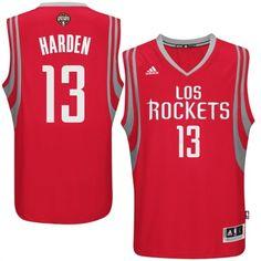 909beb809 adidas James Harden Houston Rockets Red Spanish Swingman Road Jersey   rockets  houston  nba