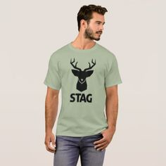 STAG Party T-Shirt - party gifts gift ideas diy customize